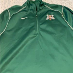 Nike Therma Fit pullover Augusta GreenJackets 2XL